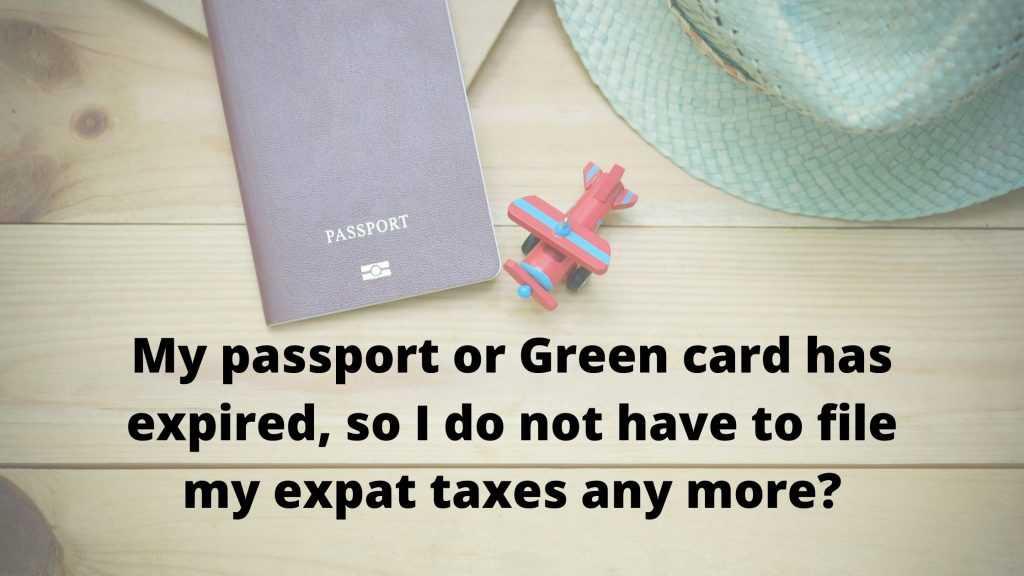 expat taxes